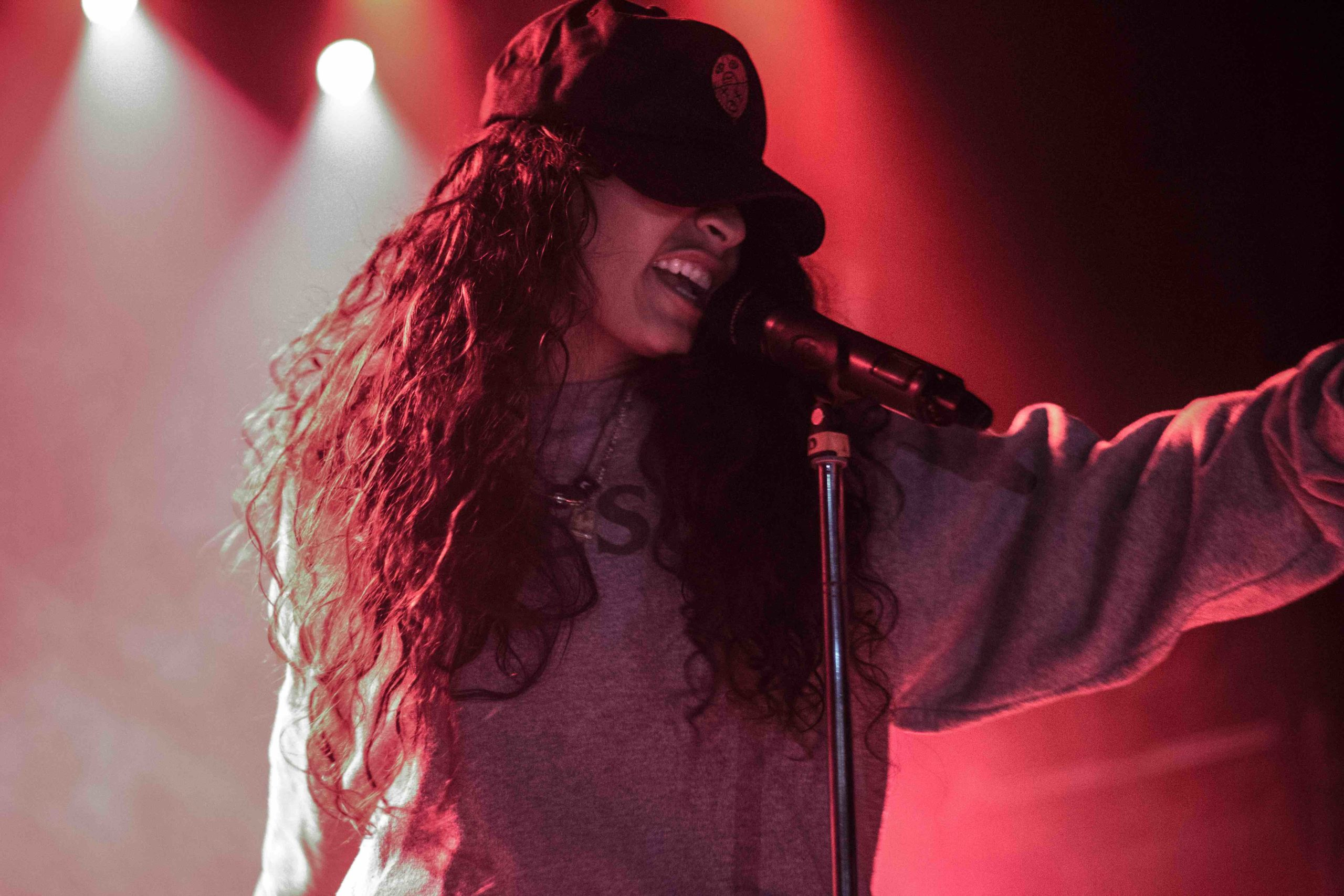 Jessie Reyez live at The Mod Club (July 2017)